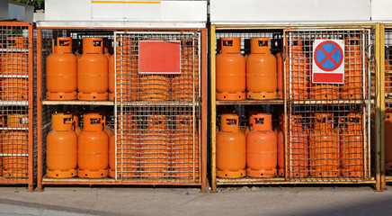 Gas cylinders LPG