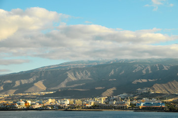 View of Tenerife South