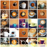 coffee collage set