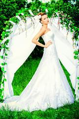 graceful bride