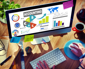 Accounting Analysis Economy Financial Investment Concept