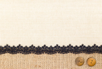 Fabric texture with Lace