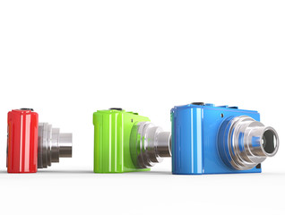 Modern compact digital photo cameras