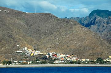 View of La Gomera