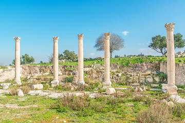 Umm Qais is a town in northern Jordan near the Gadara