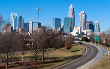 Skyline of Uptown Charlotte, NC
