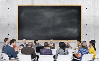 Diversity Casual People Meeting Brainstorming Concept