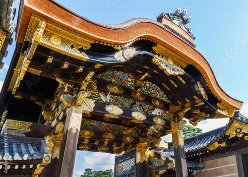 Foto op Plexiglas Japan The gate of Ninomaru Palace at Nijo Castle in Kyoto
