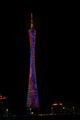 Night scene of Guangzhou TV Tower