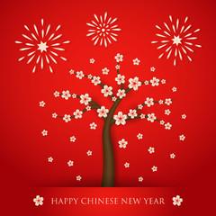 Chinese new year cerabration background