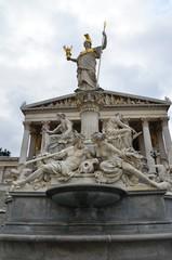 Fontaine d'Athéna, parlement autrichien de Vienne