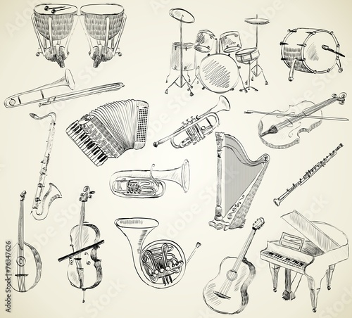 musical instruments - 76347626