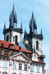 beautiful street in Prague