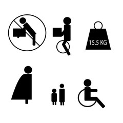 Insurance icon set,vector