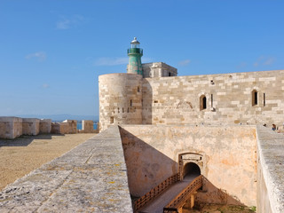 Castle Maniace In Ortigia Old Town, Sicily