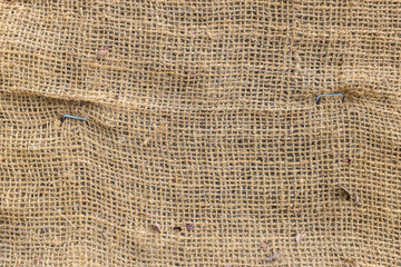 Creased Linen with rough texture
