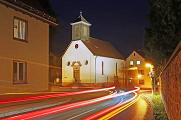 Die evangelische Kirche in Hohenwettersbach