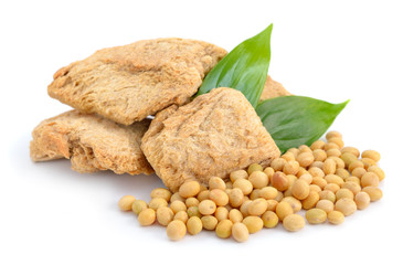 Soybean meat, seed.