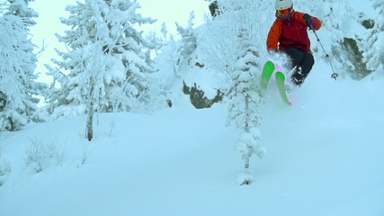 Blasting through Deep Powder