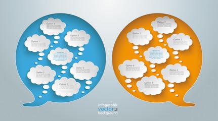 Speech Bubble Hole Thought Bubbles
