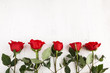 Obrazy na płótnie, fototapety, zdjęcia, fotoobrazy drukowane : Red roses for Valentine's Day