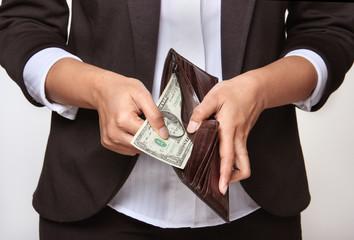 person having no money