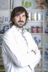 portrait of a pharmacist.