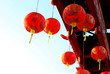 Red Chinese lantern - Chinese New Year - 76352482