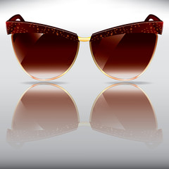 retro sunglasses with pattern