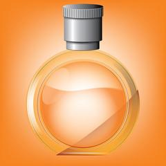 rounded perfume bottle