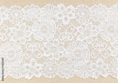 In de dag Stof Lace