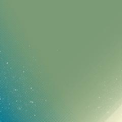 A green retro halftone background design