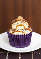 Caramel Latte Cupcake
