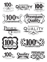 vintage calligraphic design business signs