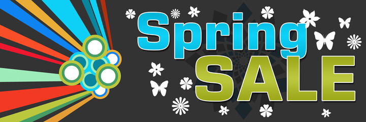 Spring Sale Colorful Dark