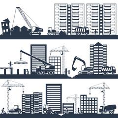 Construction Composition Black
