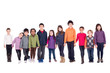 Group of children