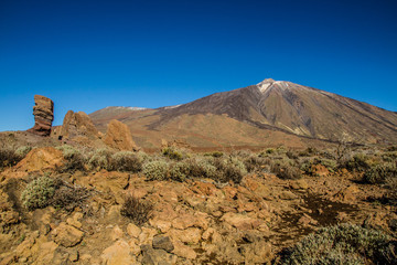 El Teide Volcano and Lava Formation-Tenerife,Spain