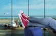 Leinwanddruck Bild - Teenage passenger