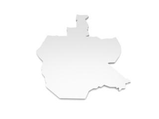 3D Karte Berlin-Reinickendorf