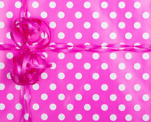 Birthday Wrapping Paper Background