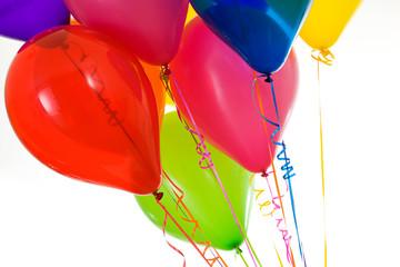 Balloons: Vibrant Balloons in a Bouquet