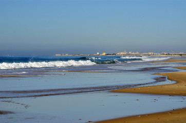 Playa de Camposoto. Cádiz. España