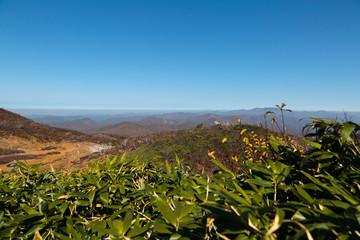 栗駒山からの景色