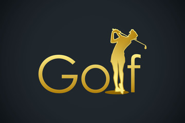 golf gold logo