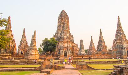 Wat Chai Watthanaram, Ayutthaya Thailand World Heritage