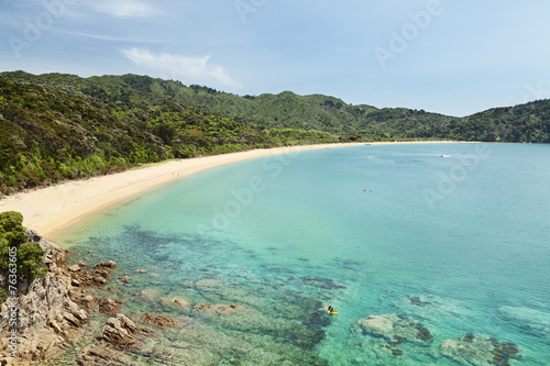 Foto op Canvas Nieuw Zeeland Totaranui Beach, Neuseeland, abel tasman