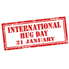 International Hug Day-stamp