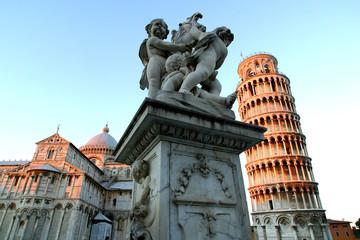 Toscana,Pisa,il Duomo e la Torre pendente