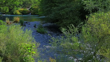 Krka river flow